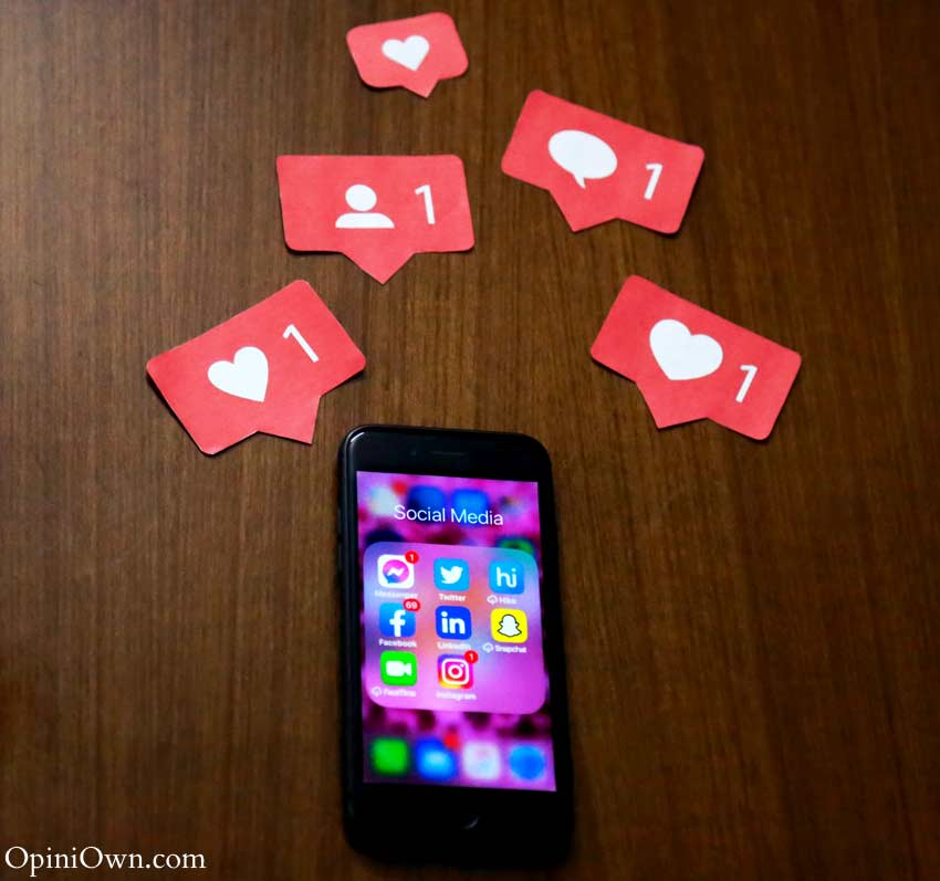 comments likes shares social media-