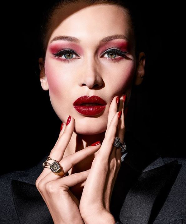 dior bella hadid campaign beauty makeup 2020