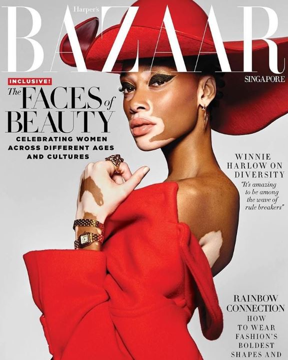 harpers bazaar fashion magazine cover editorial
