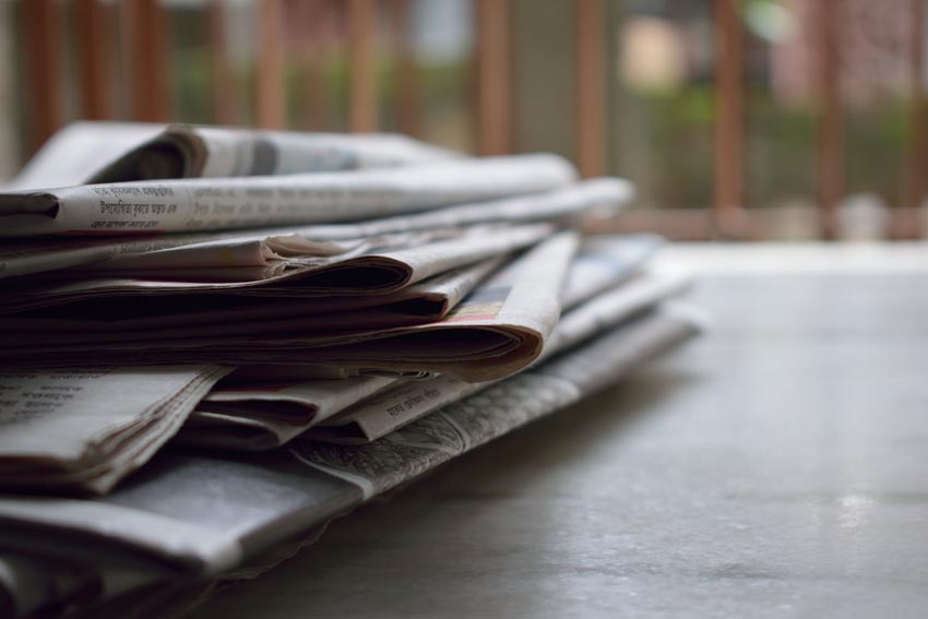 newspapers news politics journalism