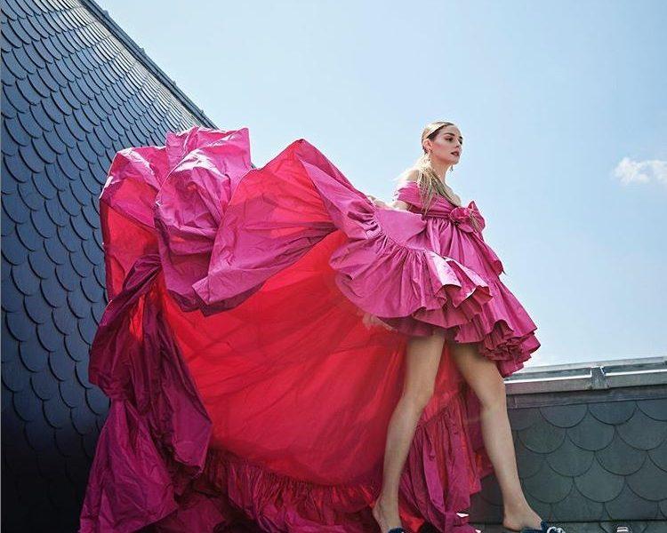 olivia palermo couture fashion campaign 2020