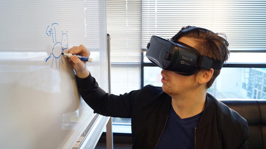 Post Coronavirus World education virtual reality AR distance learning and teaching