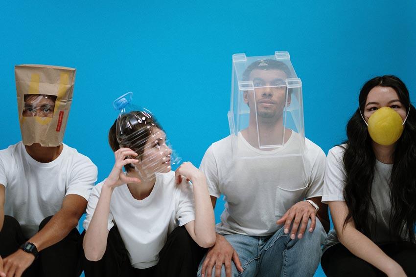 Post Coronavirus World social distancing masks diy hygiene