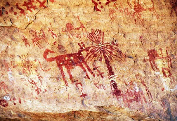 need for spreading self-information cave painting early man