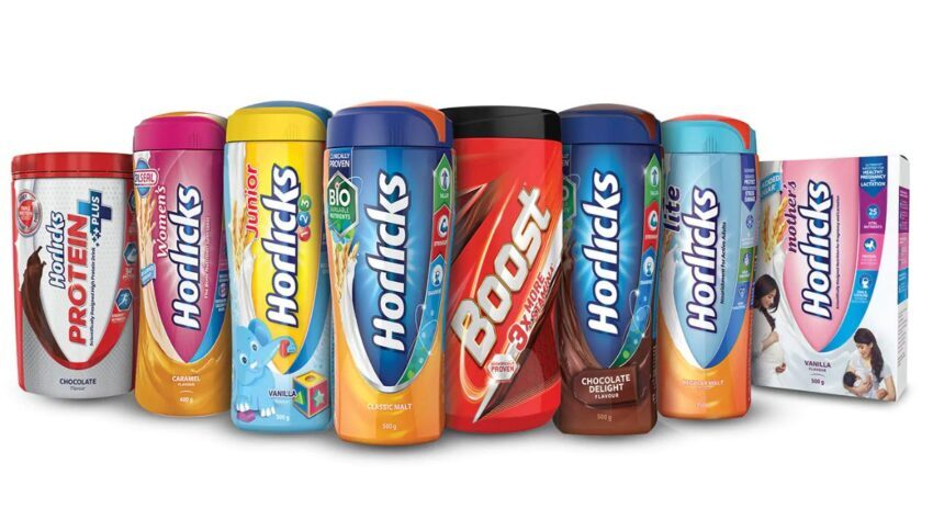 horlicks product segmentation