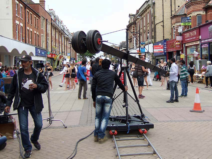 indian film industry set production unit backstage