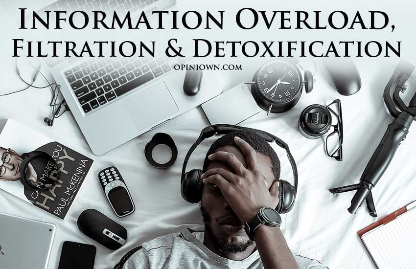 Information Overload, Filtration and Detoxification