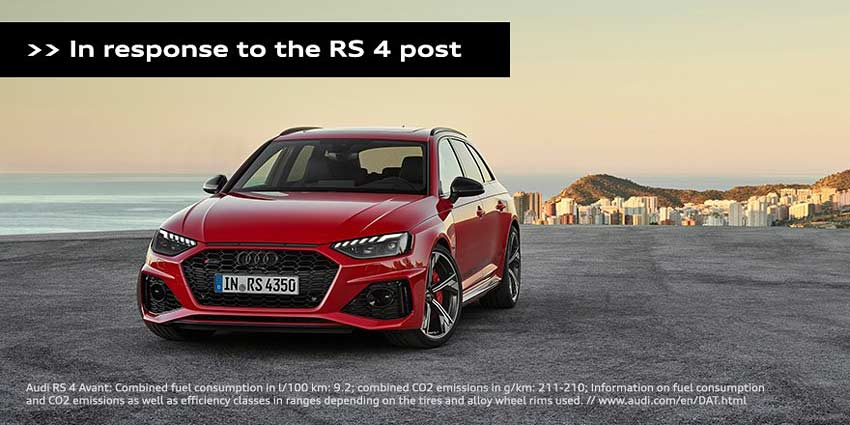 Audi-RS4-Avant-advertisement ad controversial-response