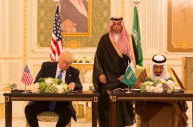 trump saudi arabia
