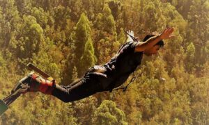 bungee jump abhishek sareen facing death